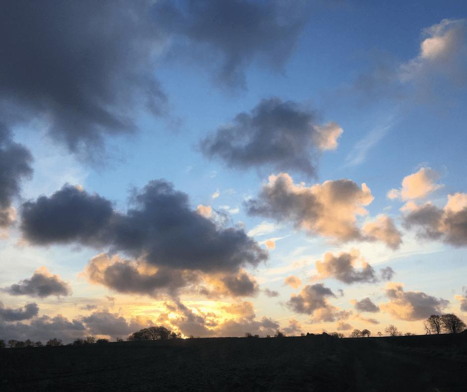 Rossie sunset