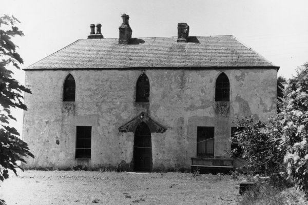 Rossie building in 1857