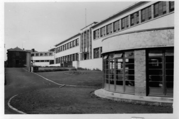 Photograph of Rossie buildings 1933