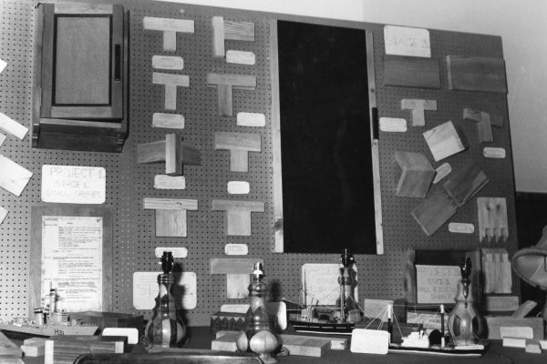 Photograph of Rossie Classroom 1950s-1
