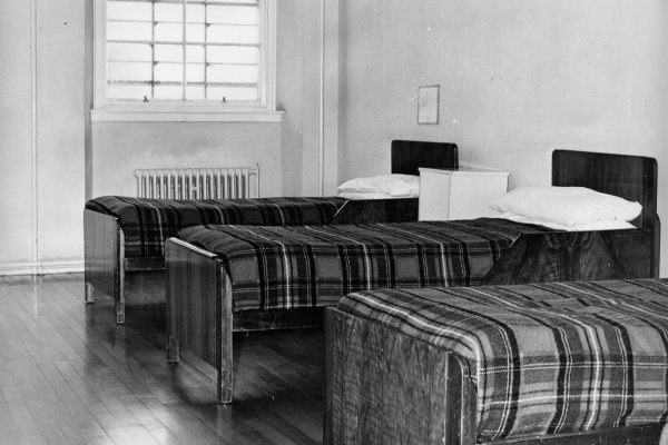 Photo of Rossie bedroom 1960