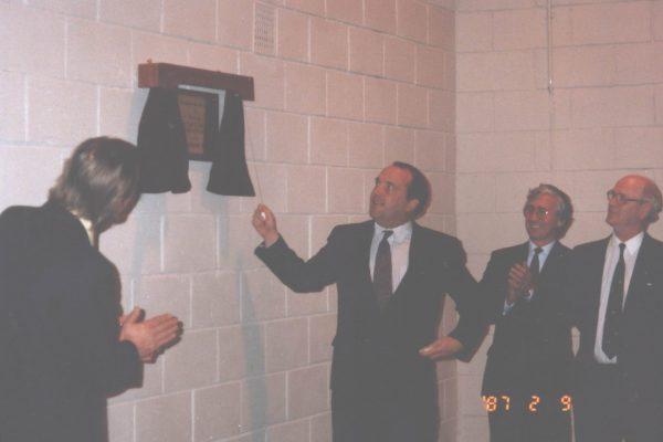 Rossie staff 1980s-5
