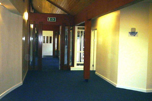 Rossie interior hallway