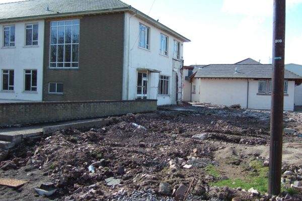 New Rossie site being built 2009-1