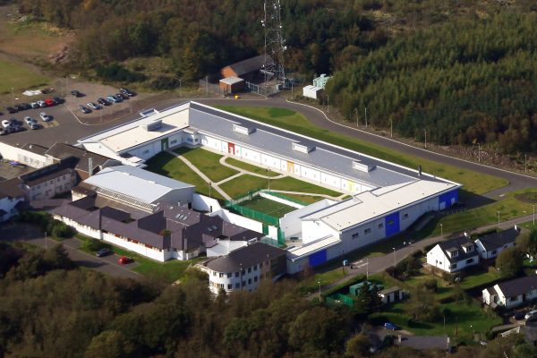 Rossie new site aerial view 2009