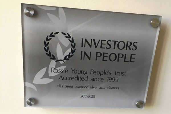 Rossie Silver Investors in People Award