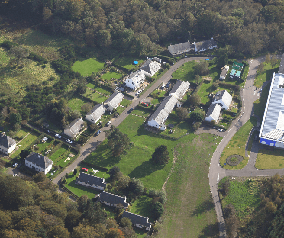 Rossie aerial view