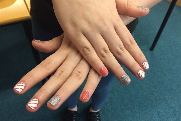 Rossie Hair and Beauty Nail art