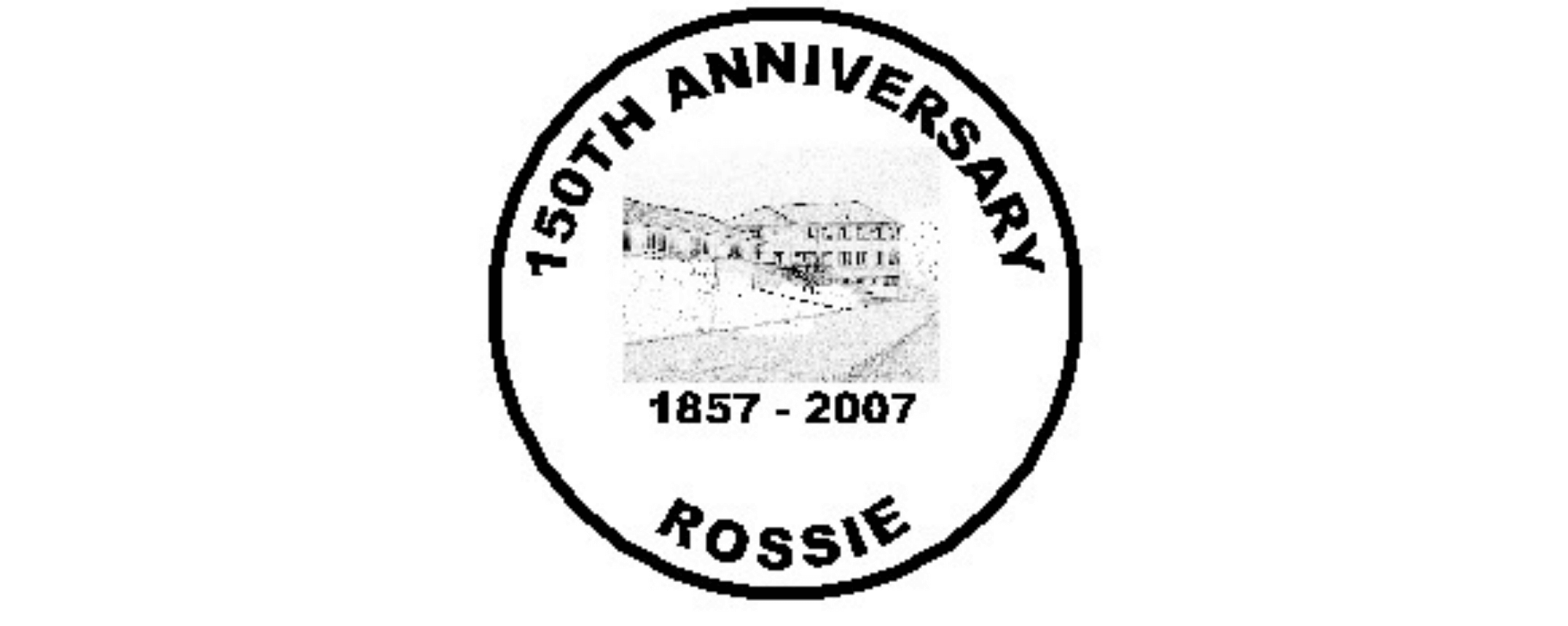 Rossie 150th anniversary stamp