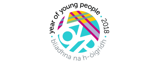 Year of Young People 2018 logo