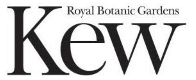 Kew botanic gardens logo