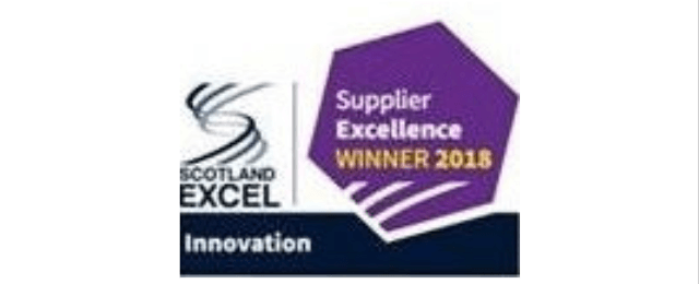 Scotland excel innovations awards logo