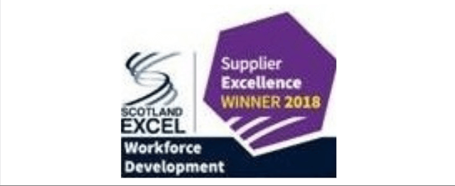 Scotland excel workforce development logo