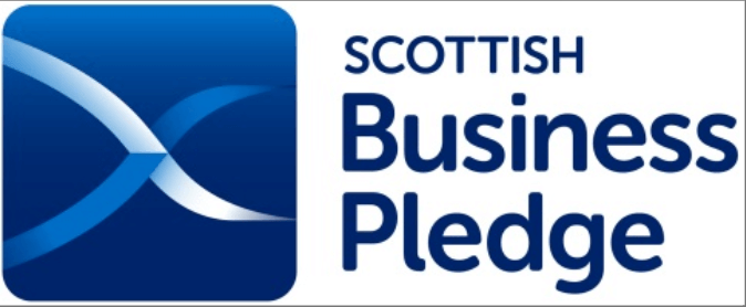 Scottish Business Pledge award logo